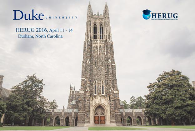 HERUG 2016, April 11-14, Durham, NC
