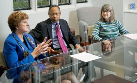 A Joint Conversation with Chancellor Washington, Dean Broome and Provost Kornbluth