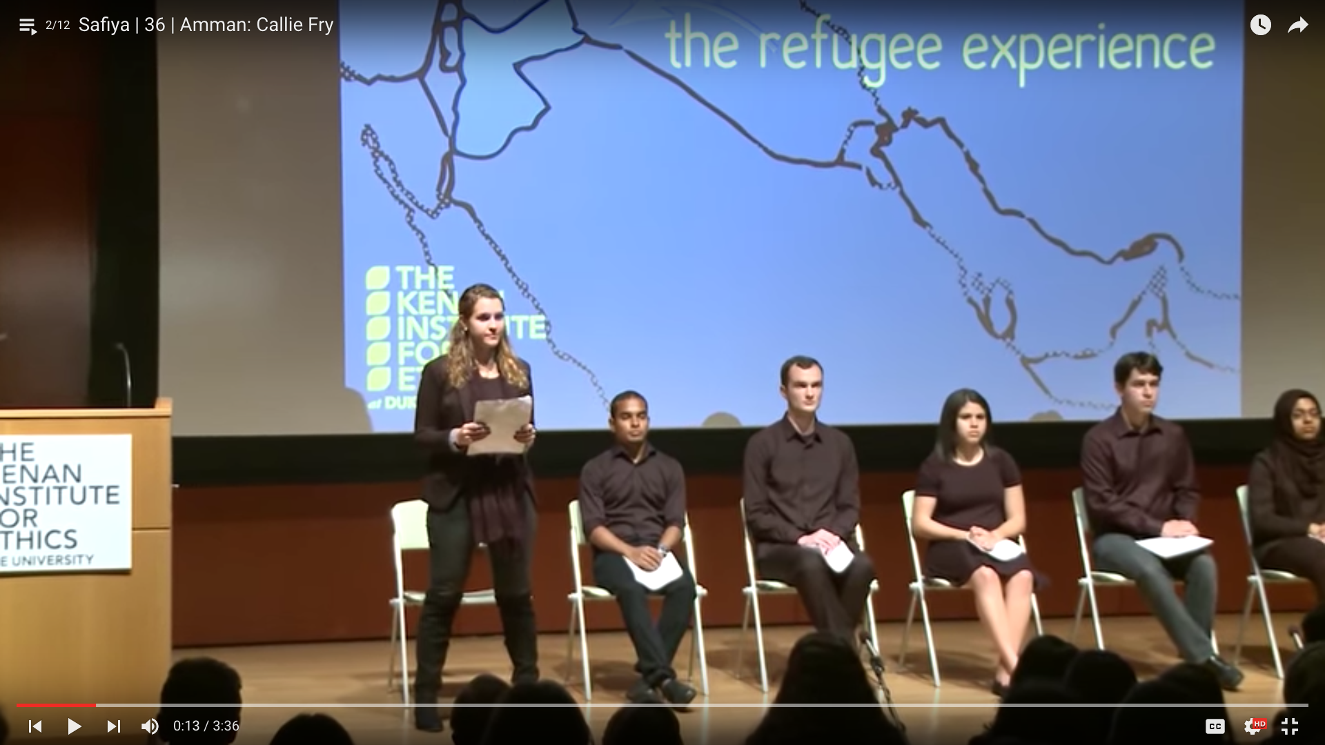 DukeImmerse: Uprooted/Rerouted Undergraduates Share Refugee Stories