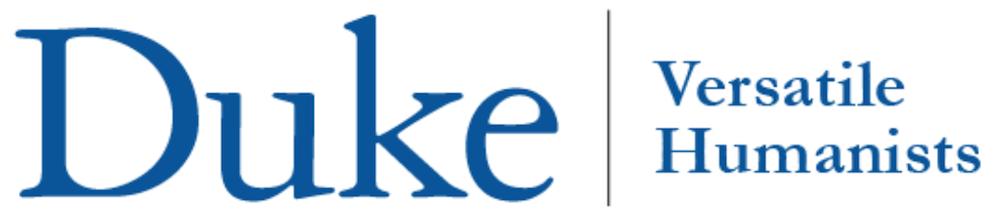 Versatile Humanists at Duke Announces Internship Program for Ph.D. Students