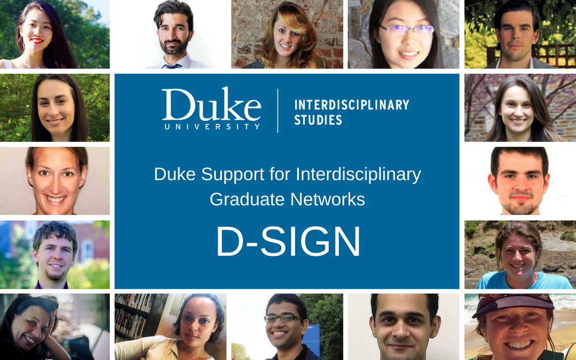 Six Graduate Student Groups Receive Interdisciplinary D-SIGN Grants