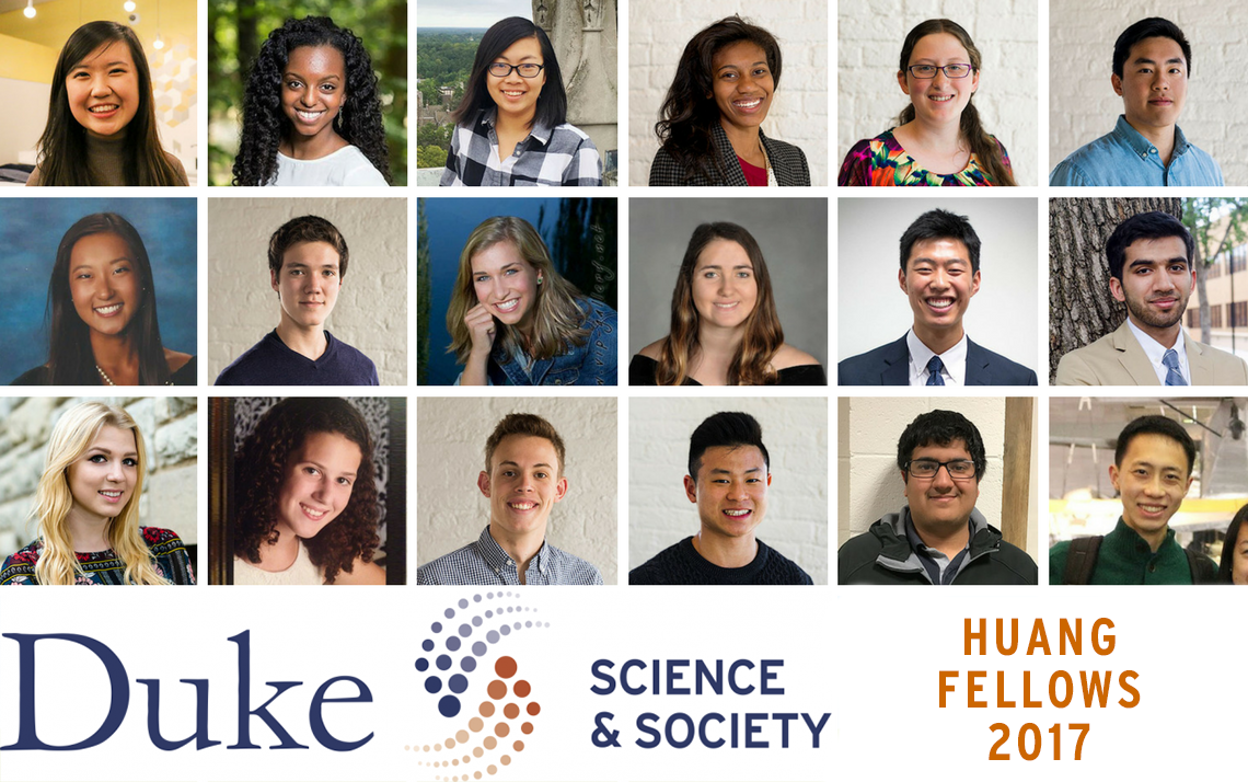 Meet the 2017 Huang Fellows