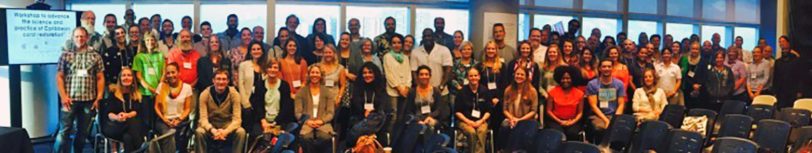 Elizabeth Shaver and group at NOAA workshop
