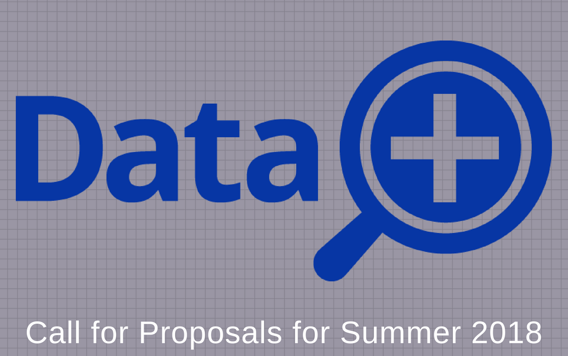 Faculty Can Propose Interdisciplinary Data+ Projects for Summer 2018
