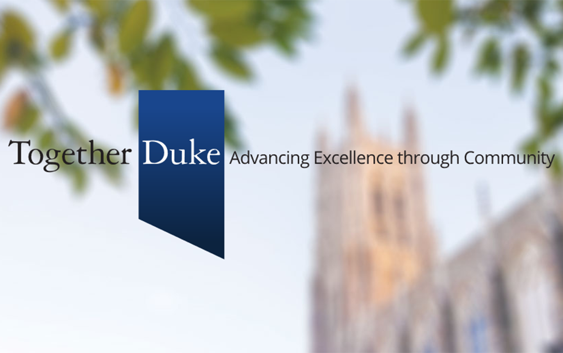 Provost Offers New Opportunities for Duke Faculty Scholar-leaders through Together Duke