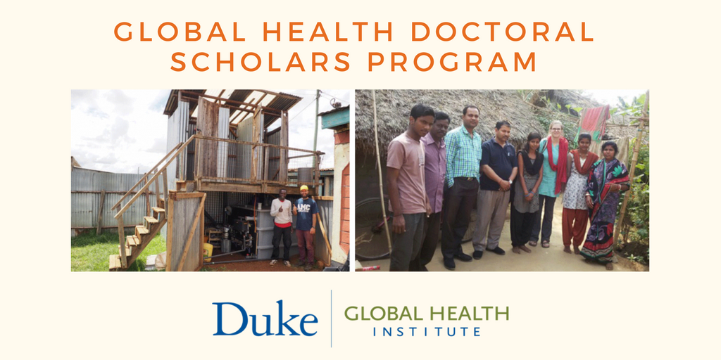 Doctoral Students Can Apply to Join Global Health Scholars Program