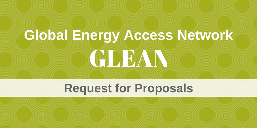 GLEAN Seeks Case Studies on Energy Access in Developing Countries