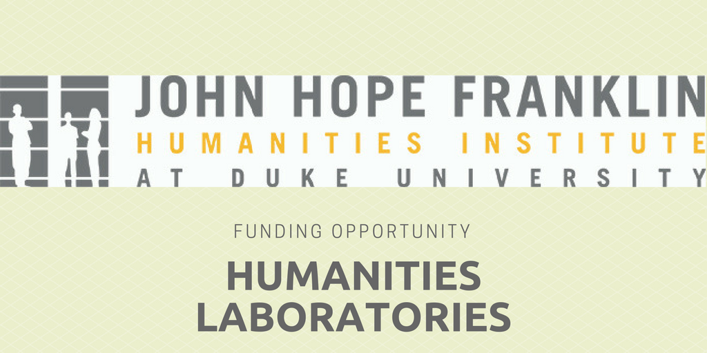 Faculty Can Submit Proposals to the Franklin Humanities Institute for New Labs