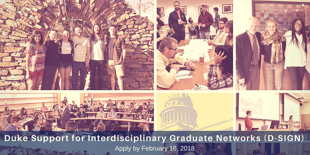 Graduate Student Groups Can Apply for D-SIGN Grants to Strengthen Their Networks