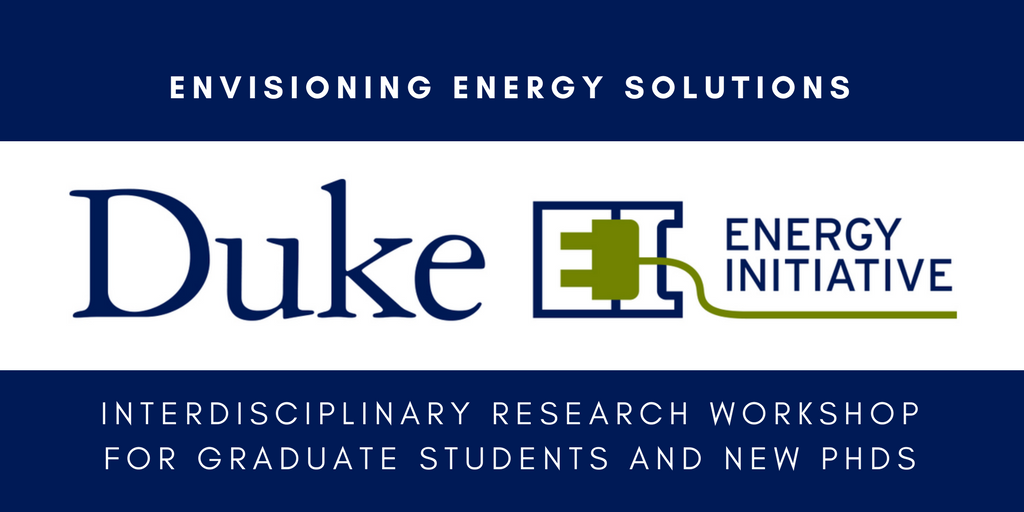 Energy Initiative Offers Workshop with Cash Prizes for Graduate Student Research