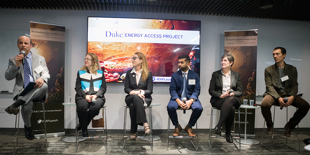 Duke Introduces Interdisciplinary Energy Access Project at D.C. Event
