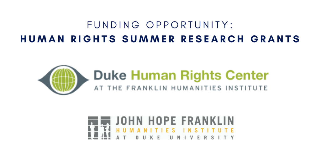 Human Rights Summer Research Grants