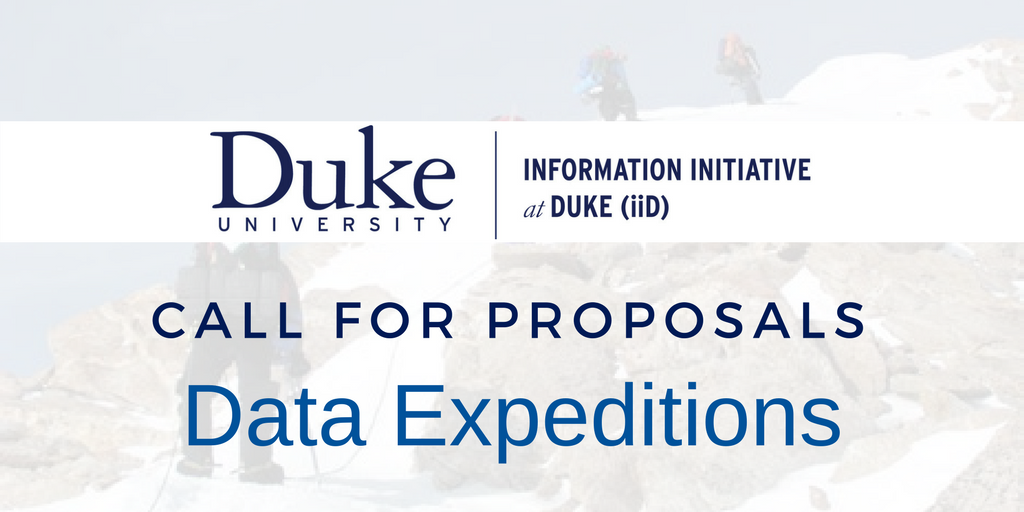 Graduate Students Can Submit Proposals for Data Expeditions in Undergraduate Courses