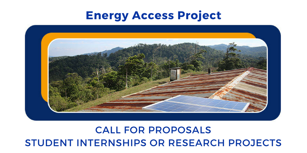 Energy Access Project Offers Summer Funding for Student Internships and Research