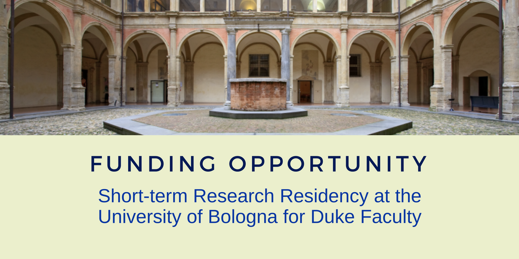 Franklin Humanities Institute Announces Research Opportunity at University of Bologna
