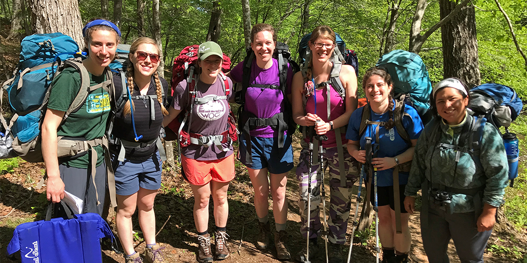 GALS instructors during the 2018 instructor training trip