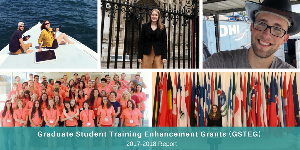 Graduate Student Training Enhancement Grants (GSTEG) 2017-2018 Report