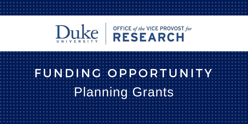 Planning Grants Available to Support Collaborative Proposals for External Funding