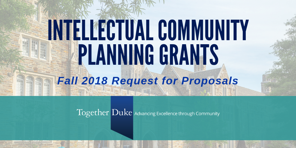 Begin or Test a New Collaboration through Intellectual Community Planning Grants