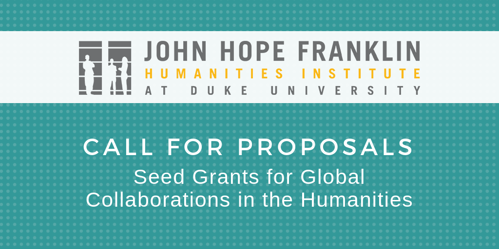 Franklin Humanities Institute Offers Seed Grants for Global Collaborations