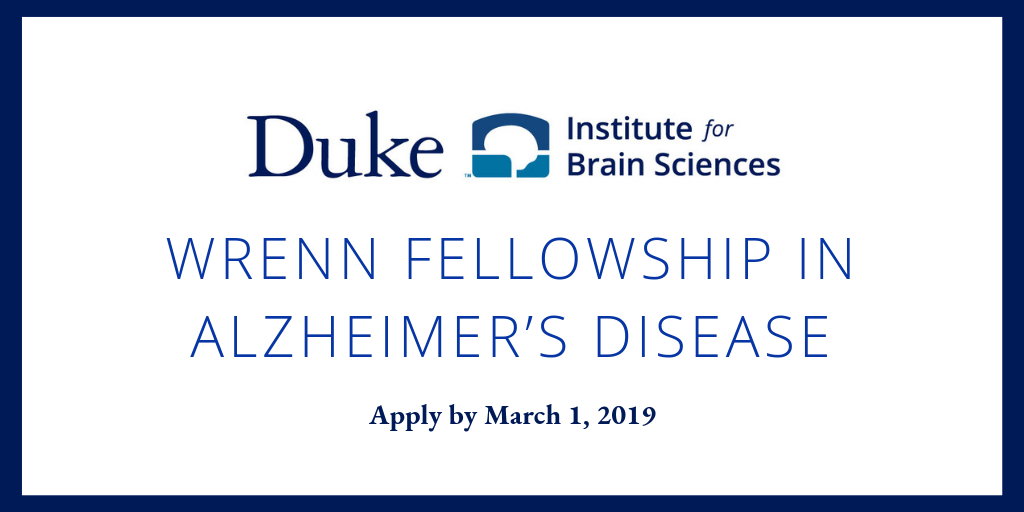 Doctoral Students Can Apply for Fellowship in Alzheimer's Research