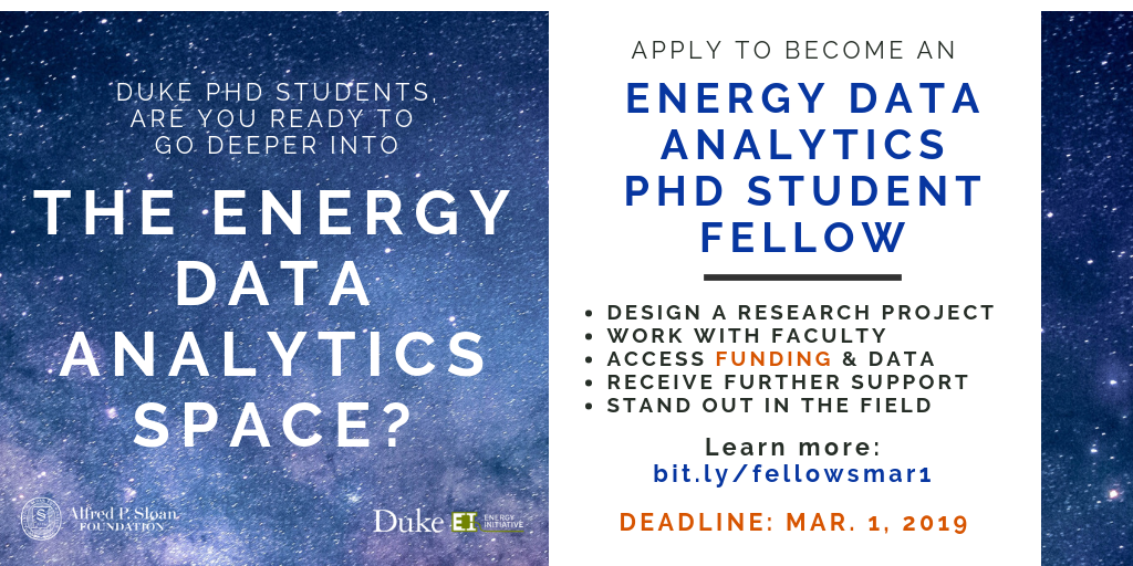 Doctoral Students Can Go Deeper into the Energy Data Analytics Space