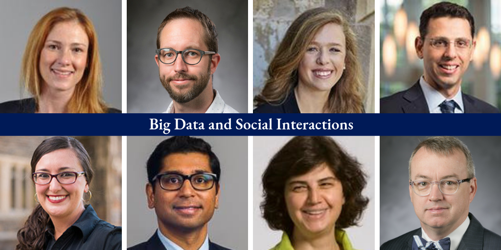 Big Data and Social Interactions faculty members.