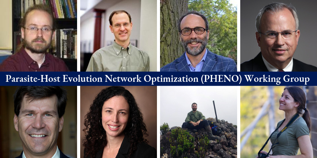 Parasite-Host Evolution Network Optimization (PHENO) Working Group faculty members.