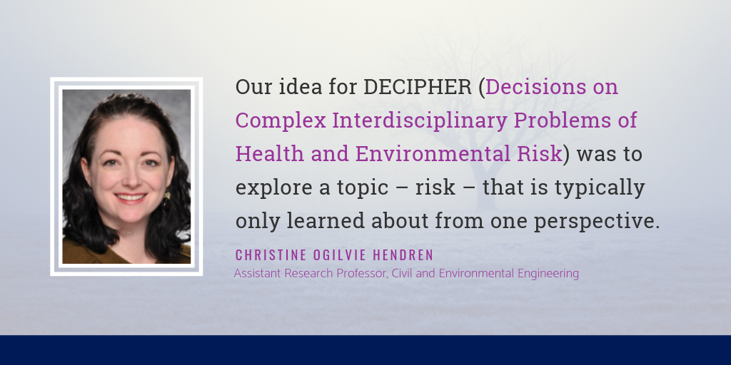 Christine Ogilvie Hendren on Interdisciplinary Collaboration