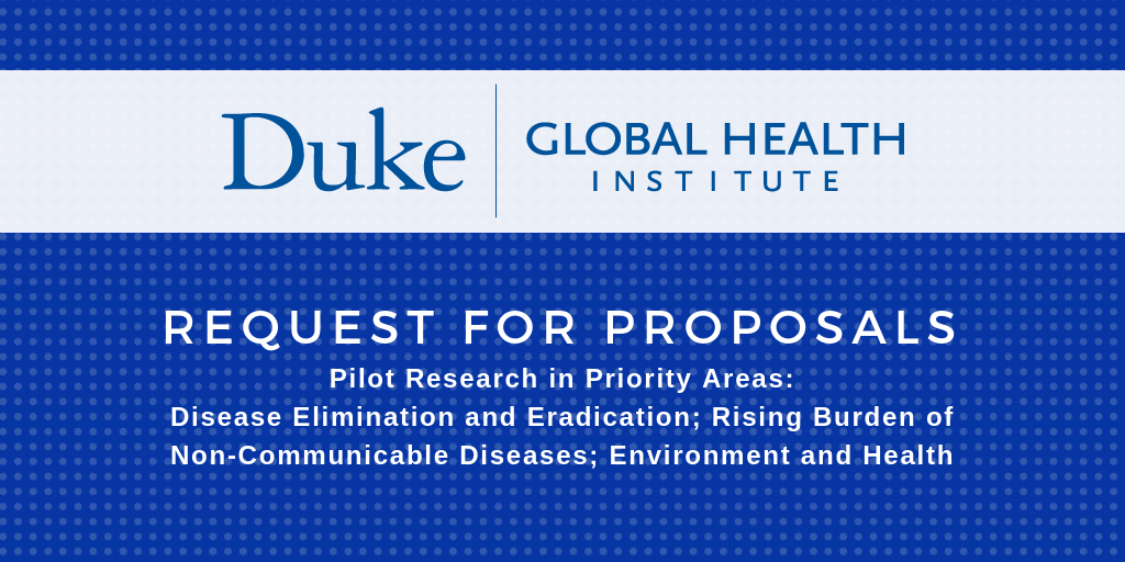 Interdisciplinary Teams of Faculty Can Apply for Global Health Pilot Research Grants