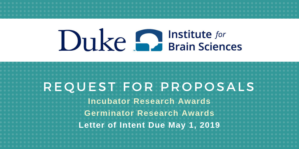Duke Institute for Brain Sciences Seeks Proposals for 2019-20 Research Awards