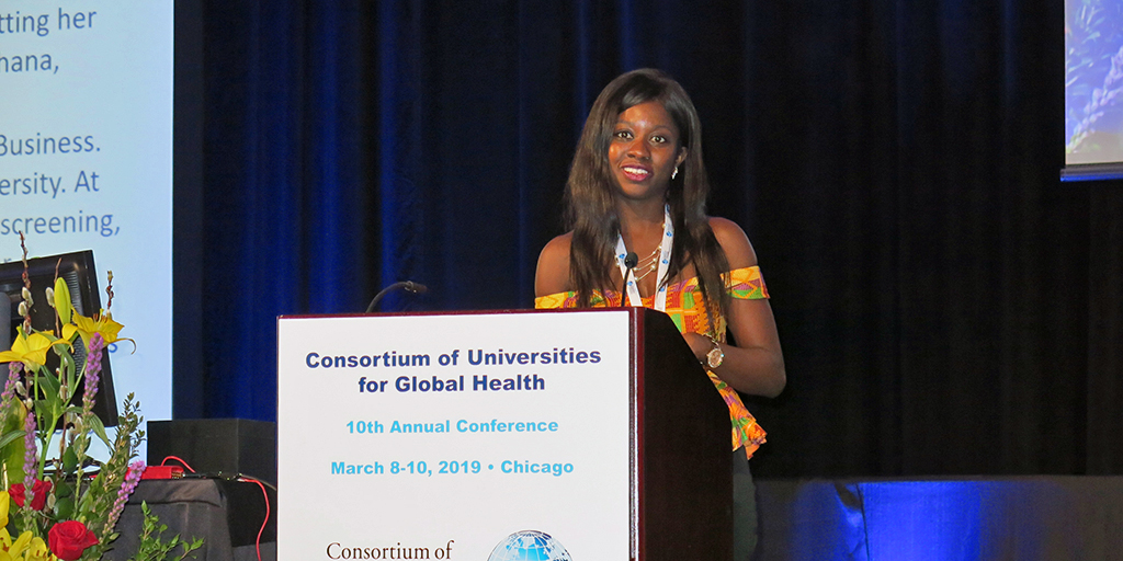 Duke Global Health Doctoral Scholar Receives Young Leader Award