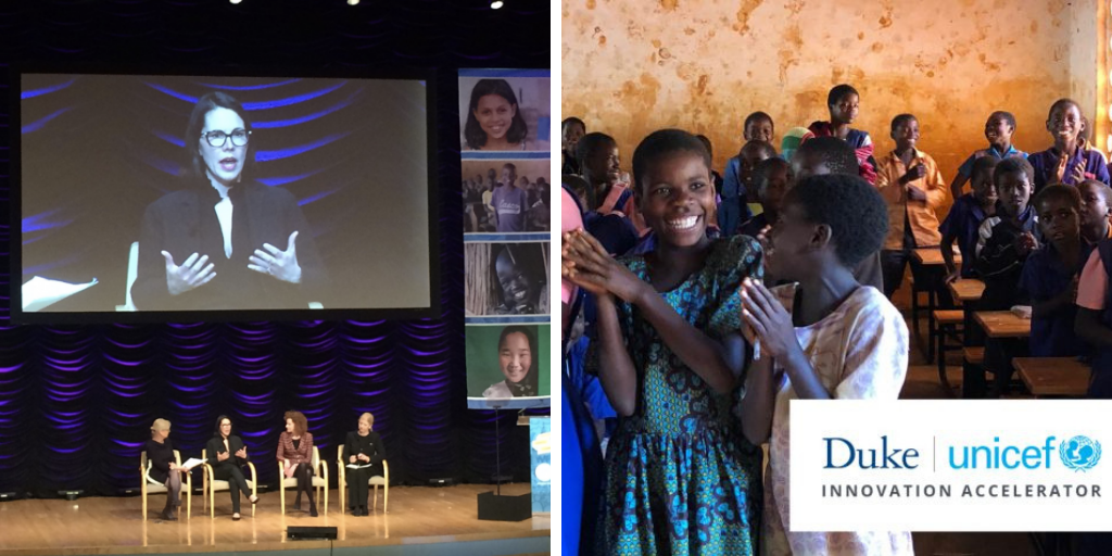 Duke Partners with UNICEF to Accelerate Entrepreneurship for Social Impact