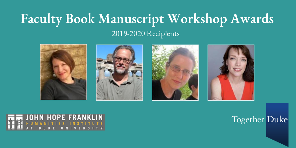 Four Faculty Receive FHI Book Manuscript Workshop Awards