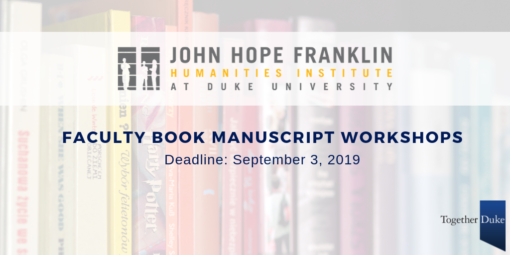 Faculty book manuscript workshop.