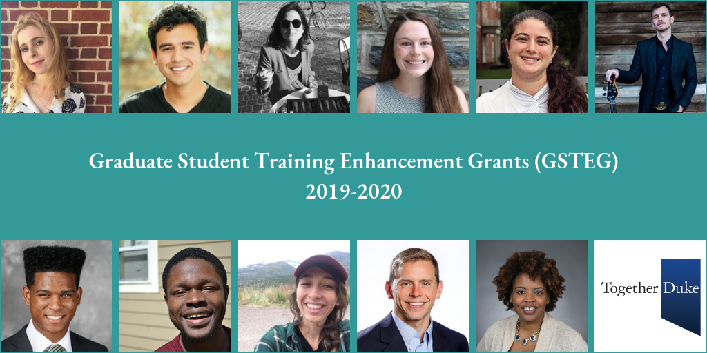 Duke Graduate Students Receive Grants to Enhance Their Training beyond Core Disciplines