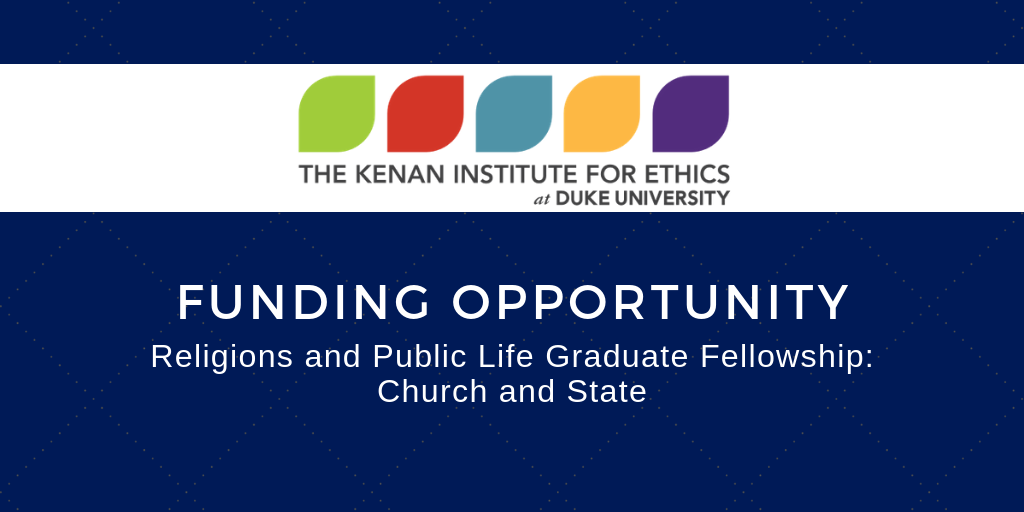 Kenan fellowships.