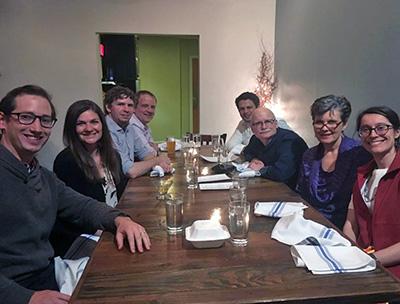 Dinner meeting.