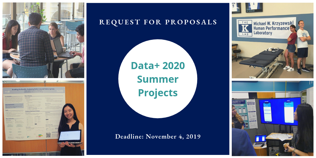 Rhodes iiD Invites Faculty Proposals for Data+ Summer Projects
