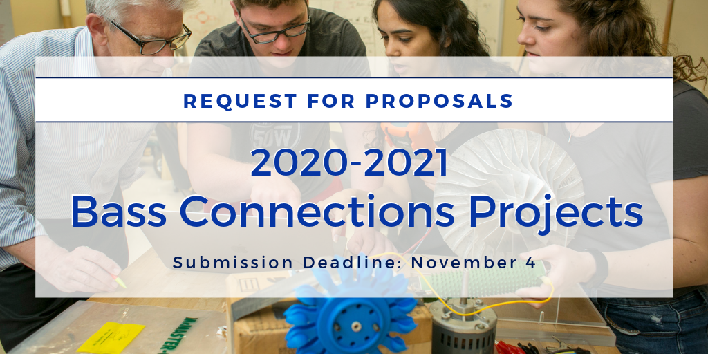 Bass Connections Invites Proposals for Project Teams in 2020-2021