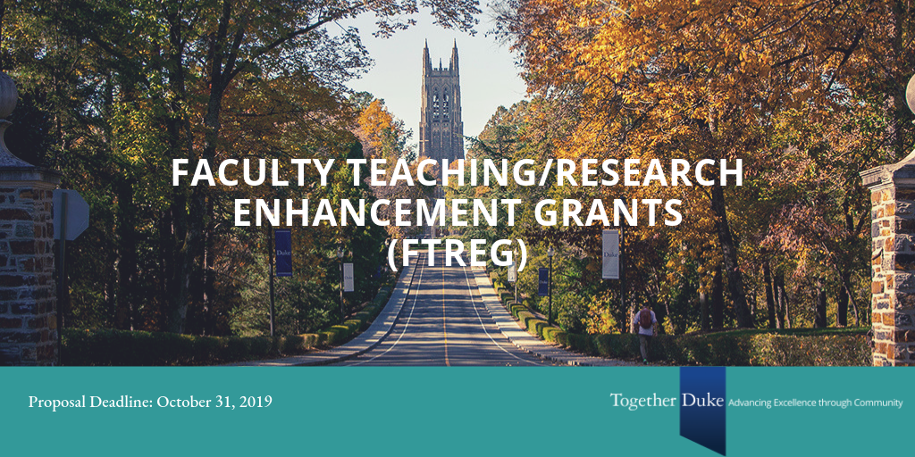 Duke Faculty Can Request Funding to Enhance Their Teaching and Research
