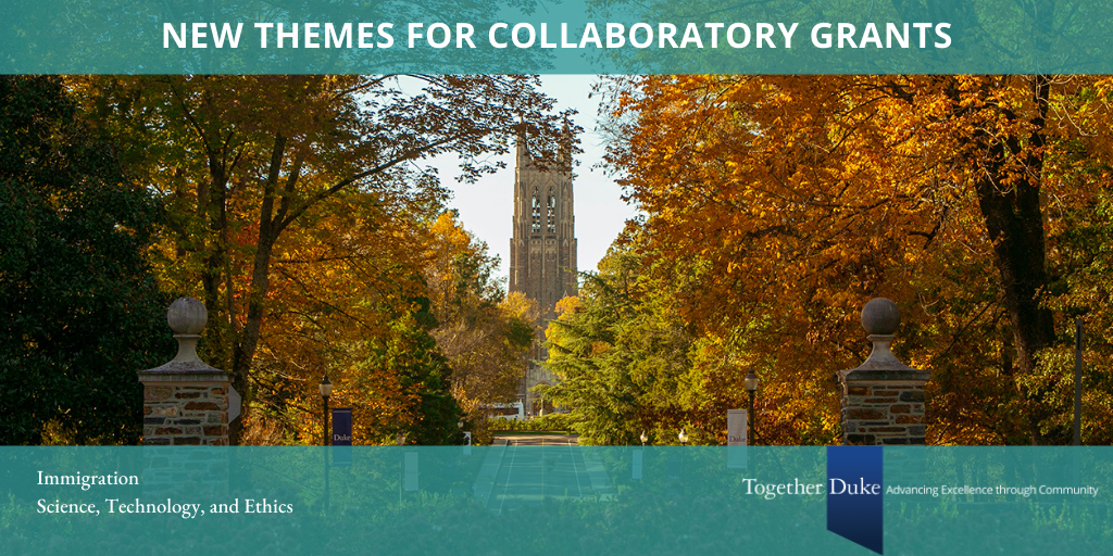 New themes for Collaboratory grants.