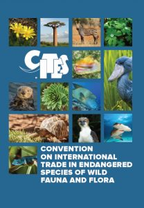 CITES booklet cover.