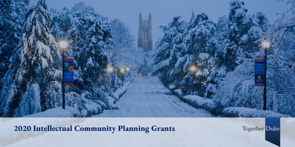 Ten Groups of Faculty Receive Intellectual Community Planning Grants for 2020