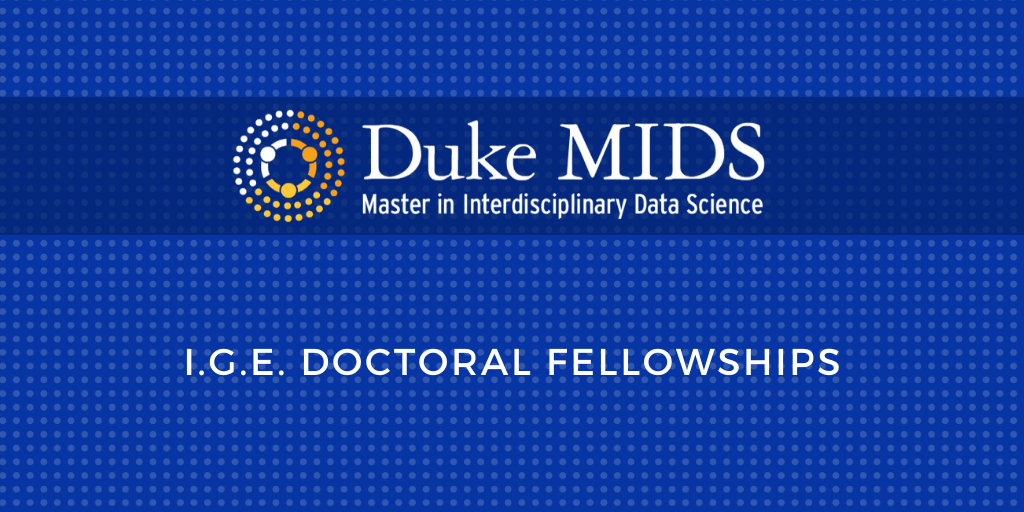 MIDS Program Invites Proposals for Doctoral Fellowships in 2020-21