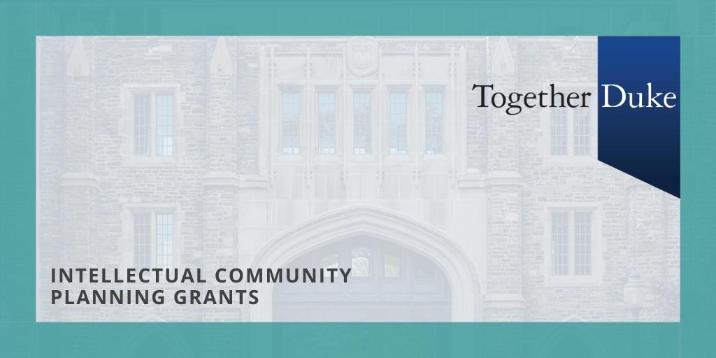 Intellectual Community Planning Grants.