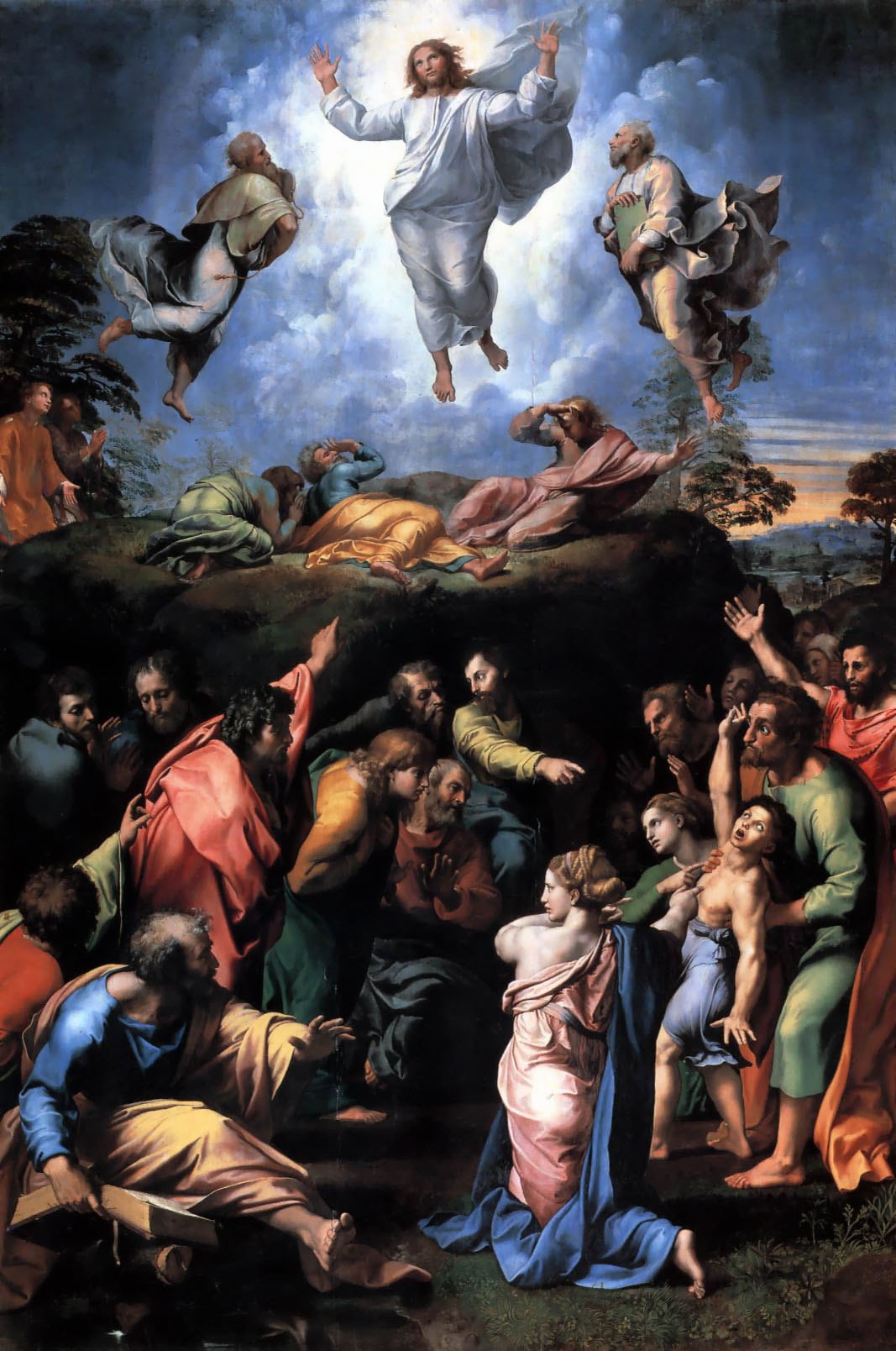 The Transfiguration, by Raphael, c. 1520