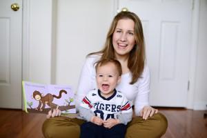 Jessamyn and her son, Raylen