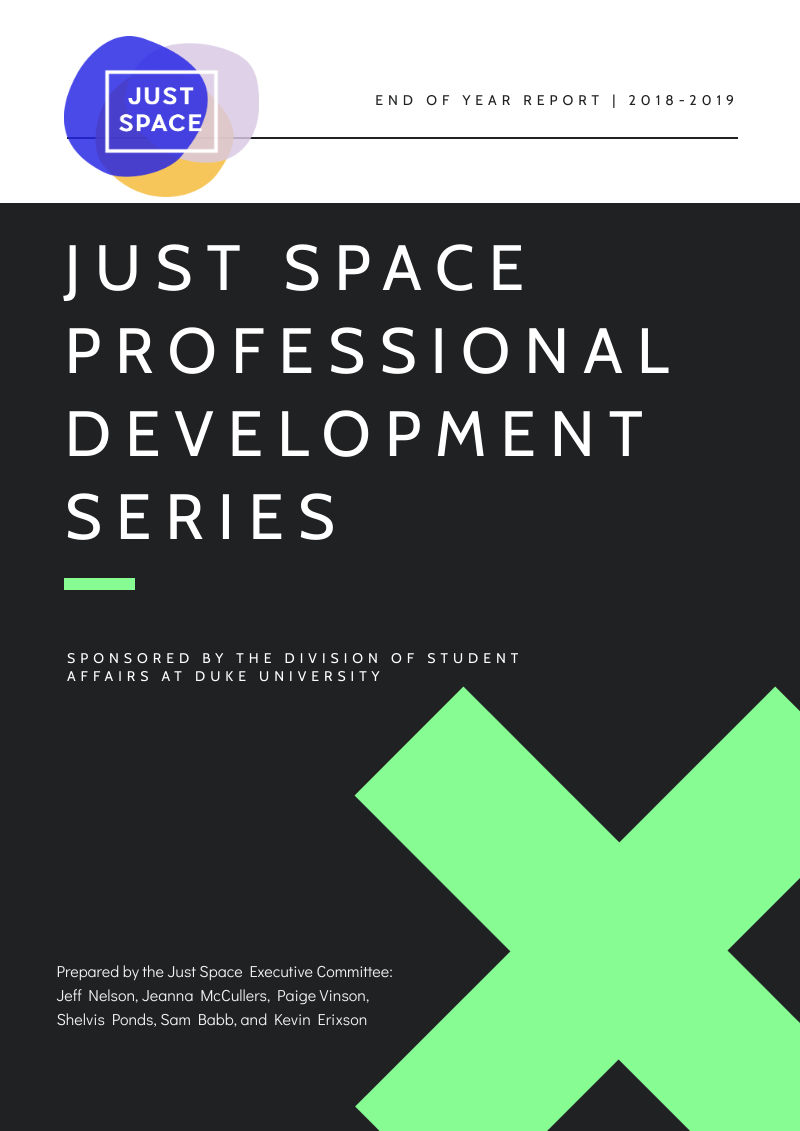 Just Space – Sponsored by the Division of Student Affairs