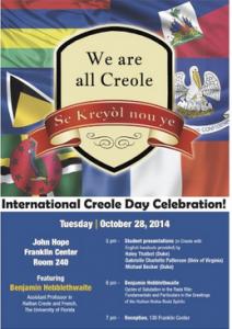International Creole Day 2014